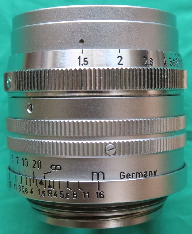 50mm F1.5 ズマリット製造番号なし 【珍品】(Summarit f=5cm 1:1.5 Ernst Leitz GmbH Wetzlar) Lマウント標準レンズ_画像2