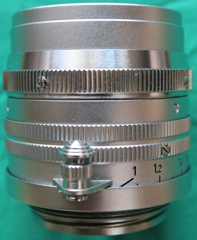50mm F1.5 ズマリット製造番号なし 【珍品】(Summarit f=5cm 1:1.5 Ernst Leitz GmbH Wetzlar) Lマウント標準レンズ_画像3