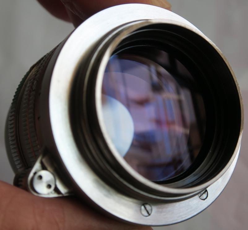 50mm F1.5 ズマリット製造番号なし 【珍品】(Summarit f=5cm 1:1.5 Ernst Leitz GmbH Wetzlar) Lマウント標準レンズ_画像4