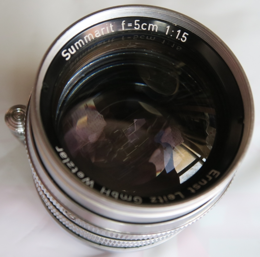 50mm F1.5 ズマリット製造番号なし 【珍品】(Summarit f=5cm 1:1.5 Ernst Leitz GmbH Wetzlar) Lマウント標準レンズ_画像9