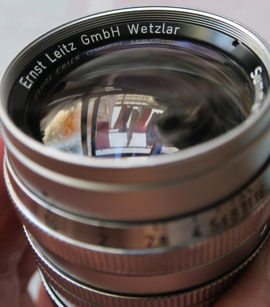 50mm F1.5 ズマリット製造番号なし 【珍品】(Summarit f=5cm 1:1.5 Ernst Leitz GmbH Wetzlar) Lマウント標準レンズ_画像7
