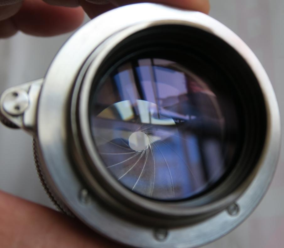 50mm F1.5 ズマリット製造番号なし 【珍品】(Summarit f=5cm 1:1.5 Ernst Leitz GmbH Wetzlar) Lマウント標準レンズ_画像6