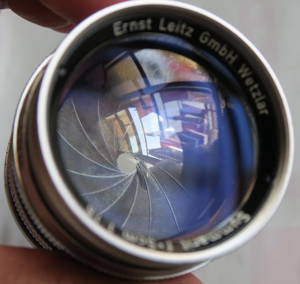 50mm F1.5 ズマリット製造番号なし 【珍品】(Summarit f=5cm 1:1.5 Ernst Leitz GmbH Wetzlar) Lマウント標準レンズ_画像5