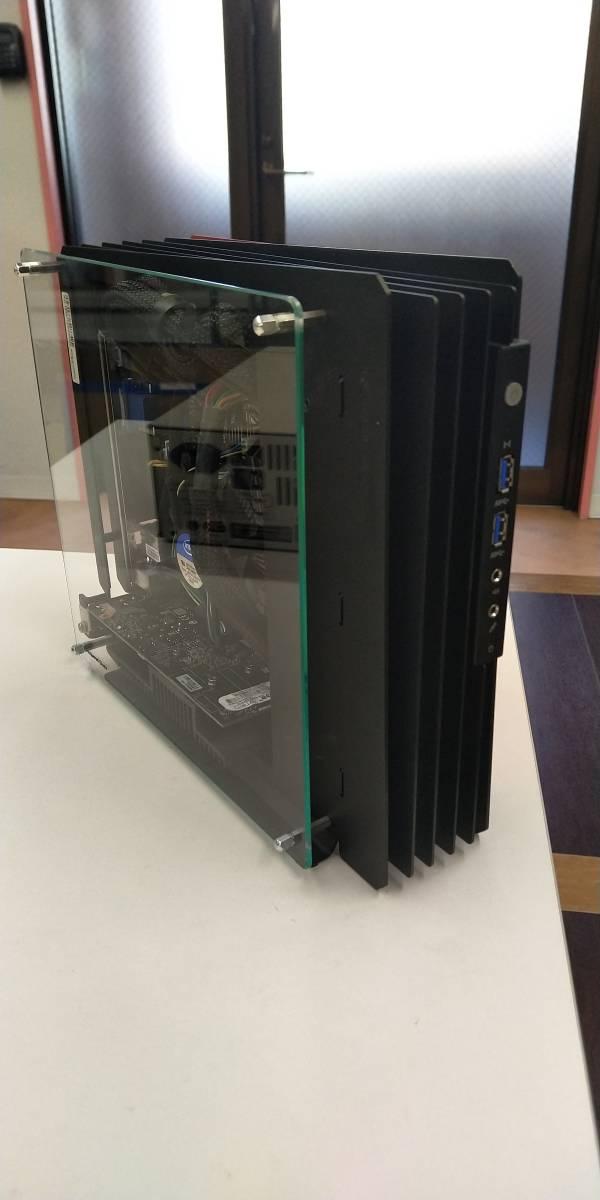 自作ゲーミングPC(パソコン) i7-4770 メモリ8GB GT1030 & MSI MAG24C ゲーミング曲面モニター_画像6