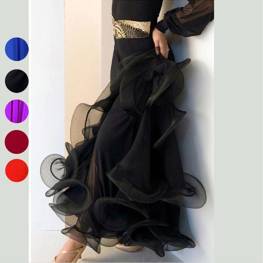 オーダーメード 社交ダンスドレス ラテンドレス モダンドレス ロングスカート ダンスウエア 競技 デモ ダンス衣装品01_画像1