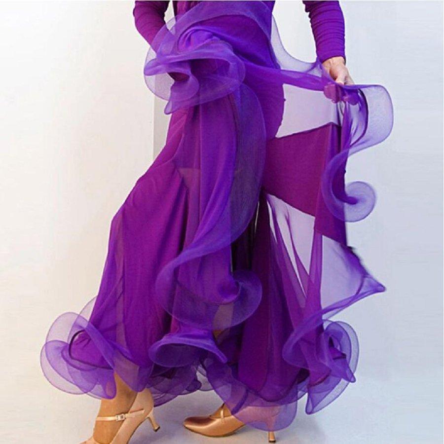 オーダーメード 社交ダンスドレス ラテンドレス モダンドレス ロングスカート ダンスウエア 競技 デモ ダンス衣装品01_画像4