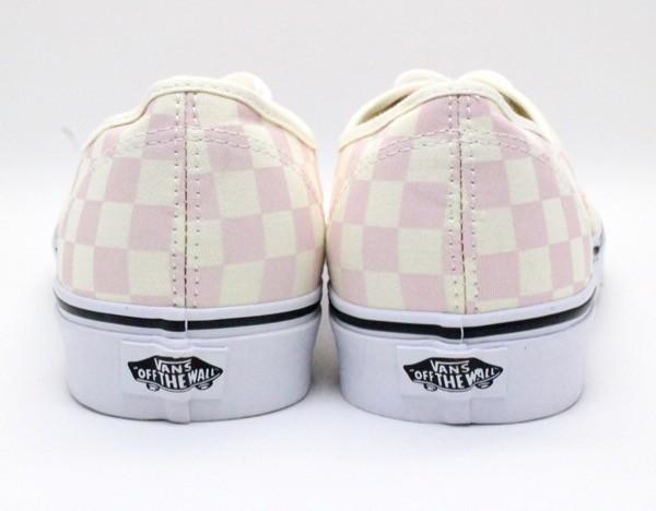 【USA購入 正規新品】VANSバンズ 28.0cm オーセンティックAUTHENTIC チェッカーボード ピンク オフホワイト 靴シューズ☆8e71_画像5