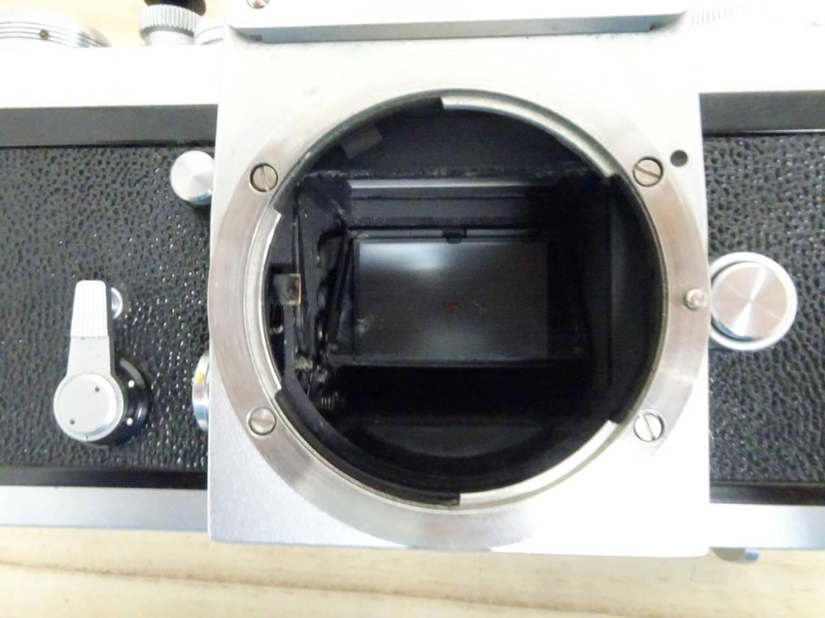 NIKON F アイレベル 733万台 後期型 フィルムカメラ ジャンク 834HH_画像6