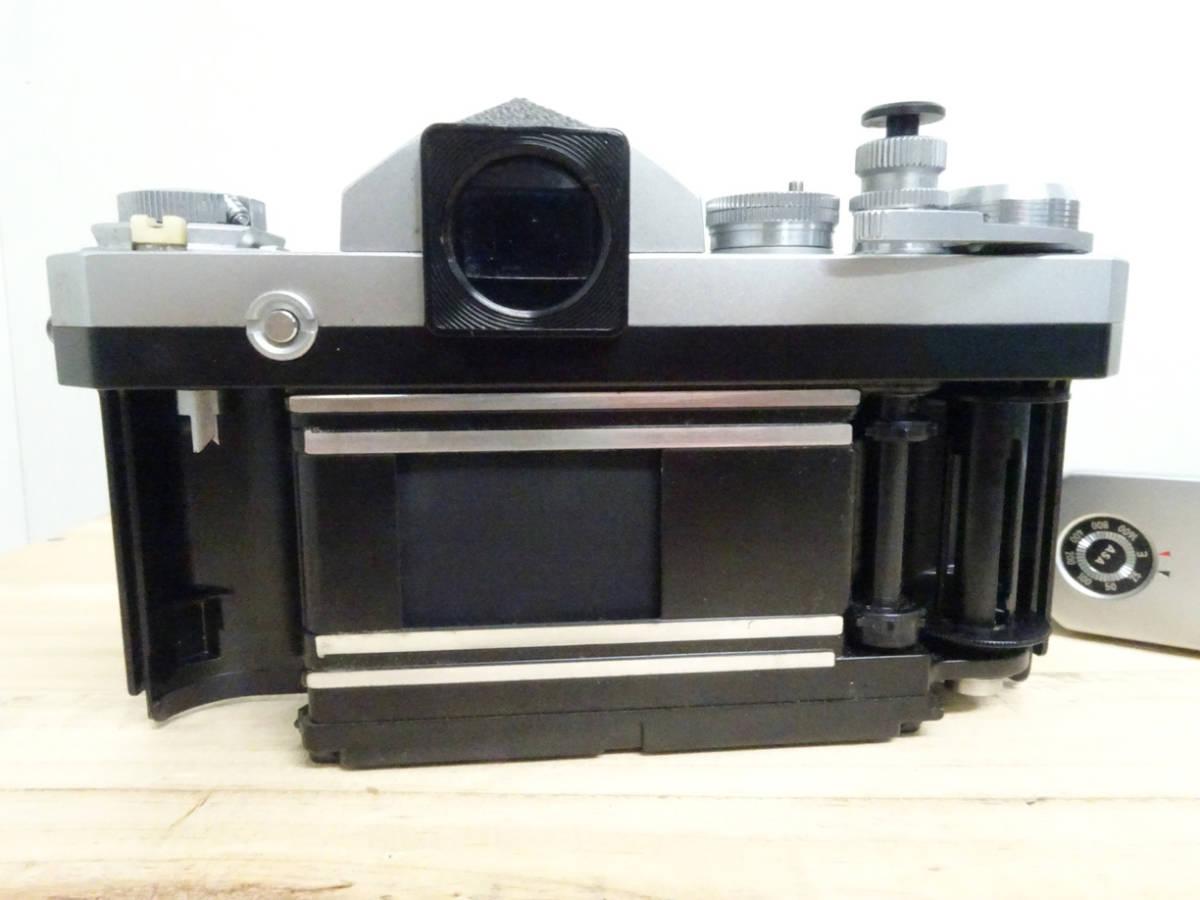 NIKON F アイレベル 733万台 後期型 フィルムカメラ ジャンク 834HH_画像4