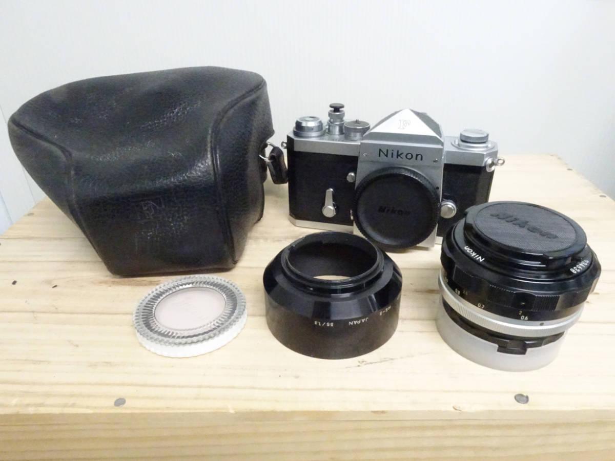 NIKON F アイレベル 733万台 後期型 フィルムカメラ ジャンク 834HH_画像10