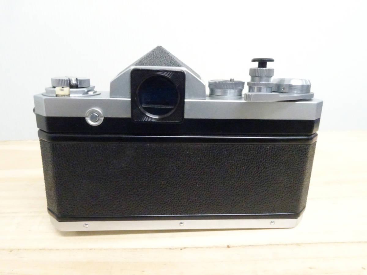 NIKON F アイレベル 733万台 後期型 フィルムカメラ ジャンク 834HH_画像3