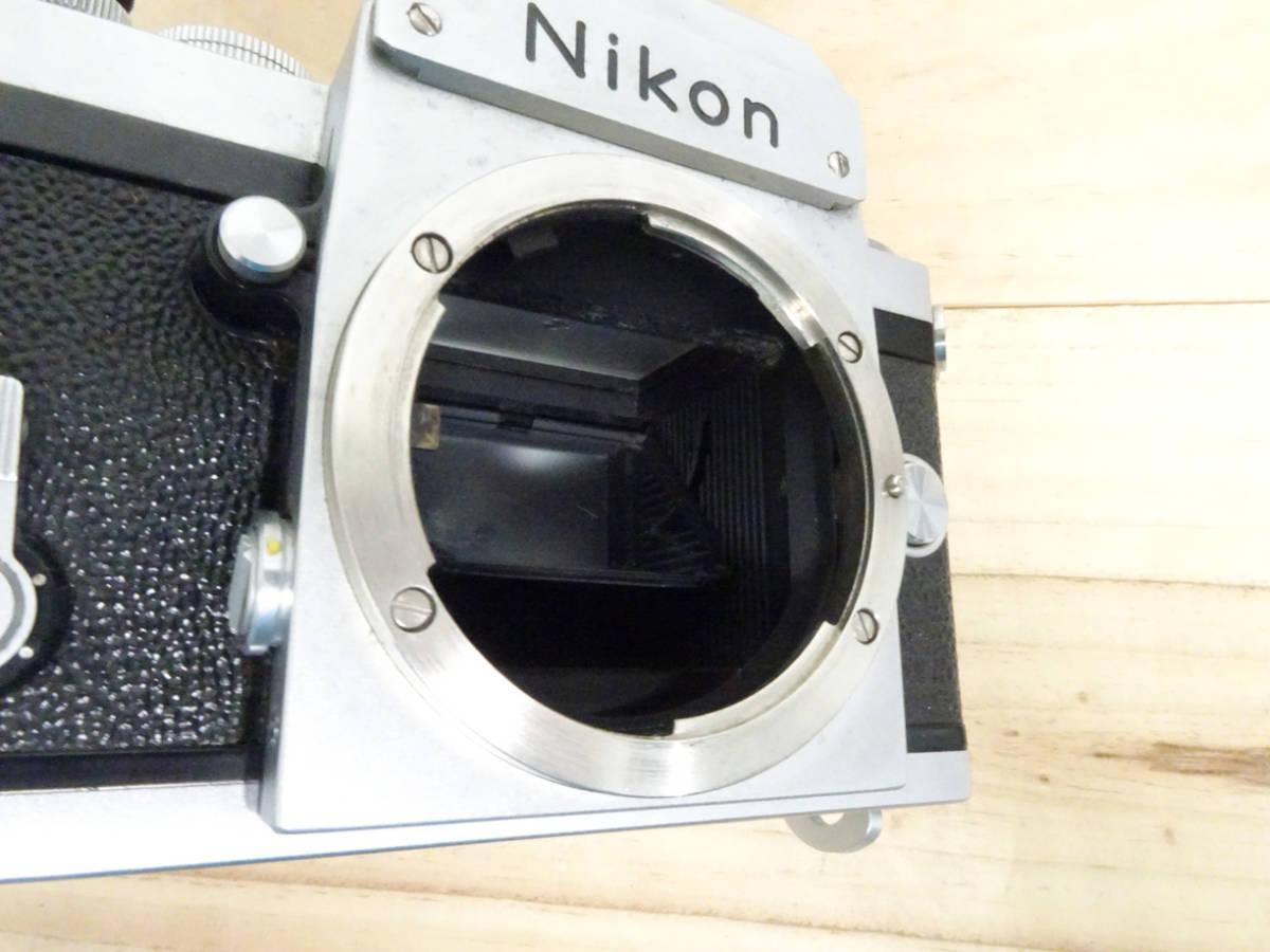 NIKON F アイレベル 733万台 後期型 フィルムカメラ ジャンク 834HH_画像5