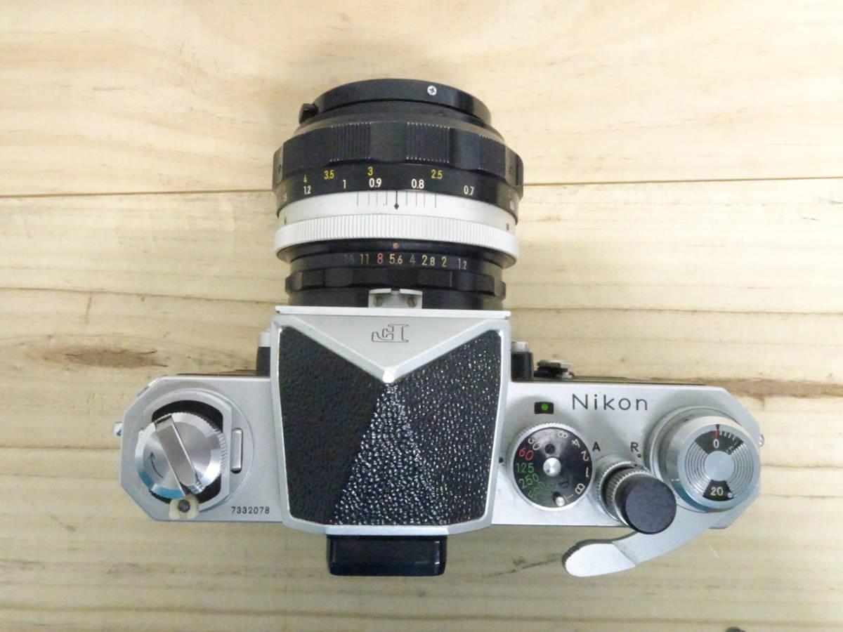 NIKON F アイレベル 733万台 後期型 フィルムカメラ ジャンク 834HH_画像2