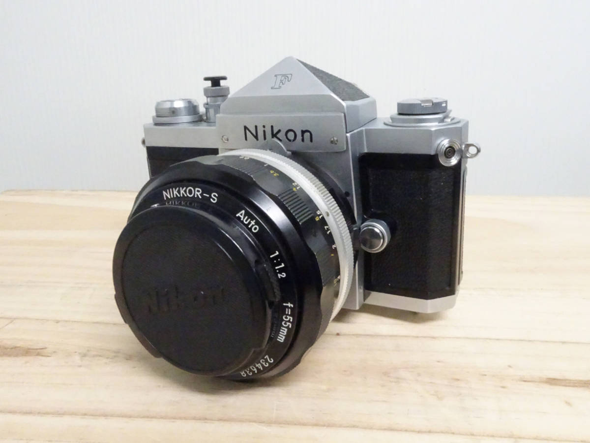 NIKON F アイレベル 733万台 後期型 フィルムカメラ ジャンク 834HH