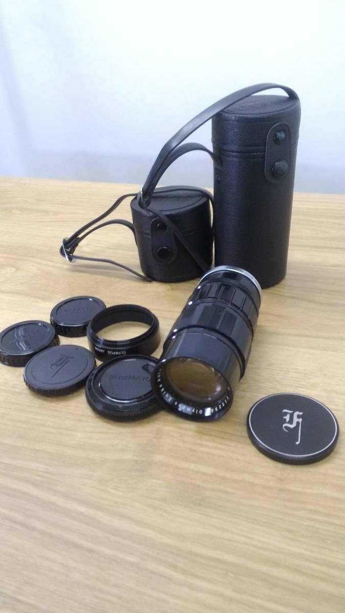 [KmY129]オリンパス フィルムカメラまとめ OLYMPUS OM20/OLYMPUS-PEN F/ZUIKOレンズ50-90㎜付き ジャンク品 80サイズ_画像8