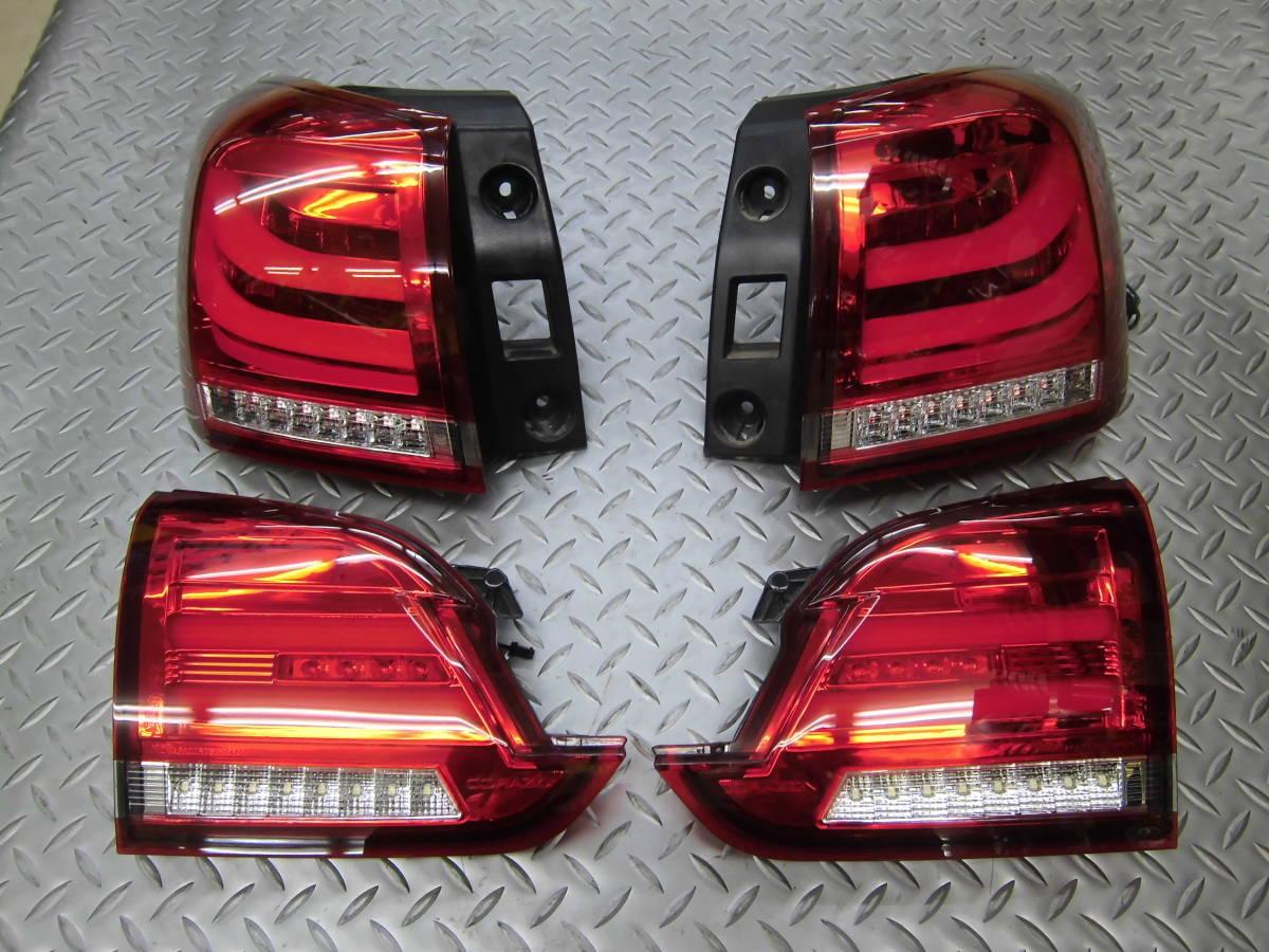 中古 CORAZON コラゾン LEDテール スバル レヴォーグ CZ-VM-LT001R クロームベゼル 点灯タイプ_画像1