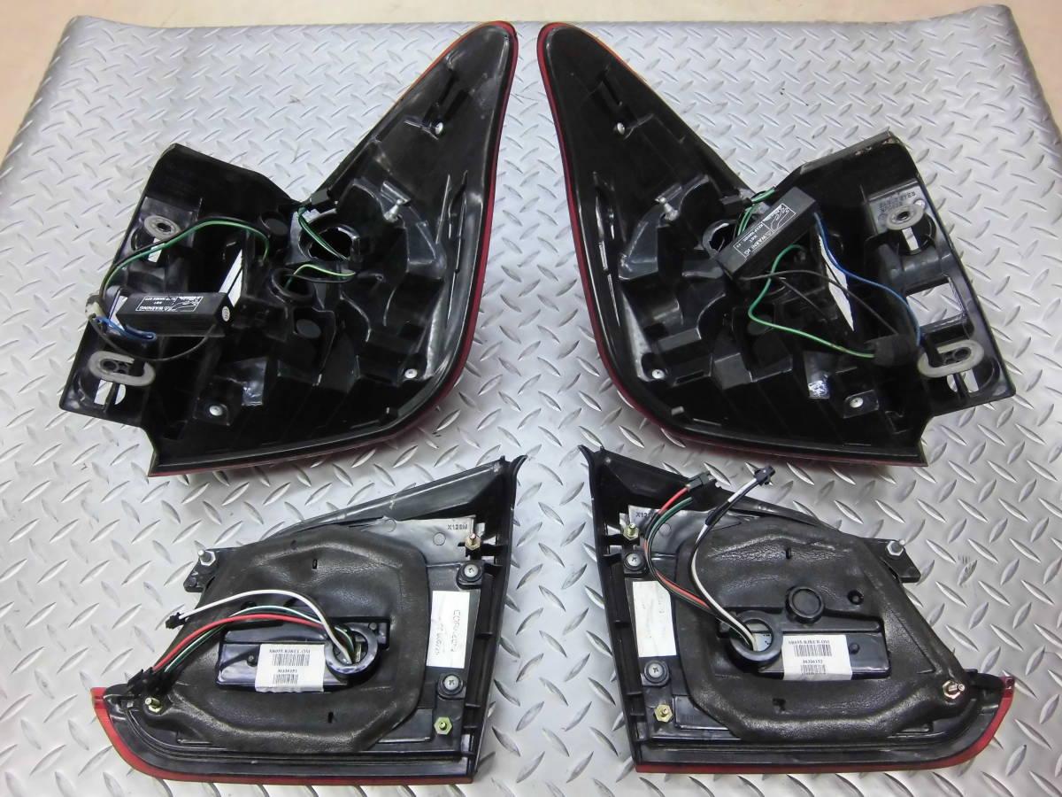 中古 CORAZON コラゾン LEDテール スバル レヴォーグ CZ-VM-LT001R クロームベゼル 点灯タイプ_画像2