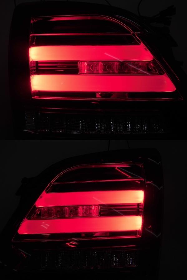 中古 CORAZON コラゾン LEDテール スバル レヴォーグ CZ-VM-LT001R クロームベゼル 点灯タイプ_画像5