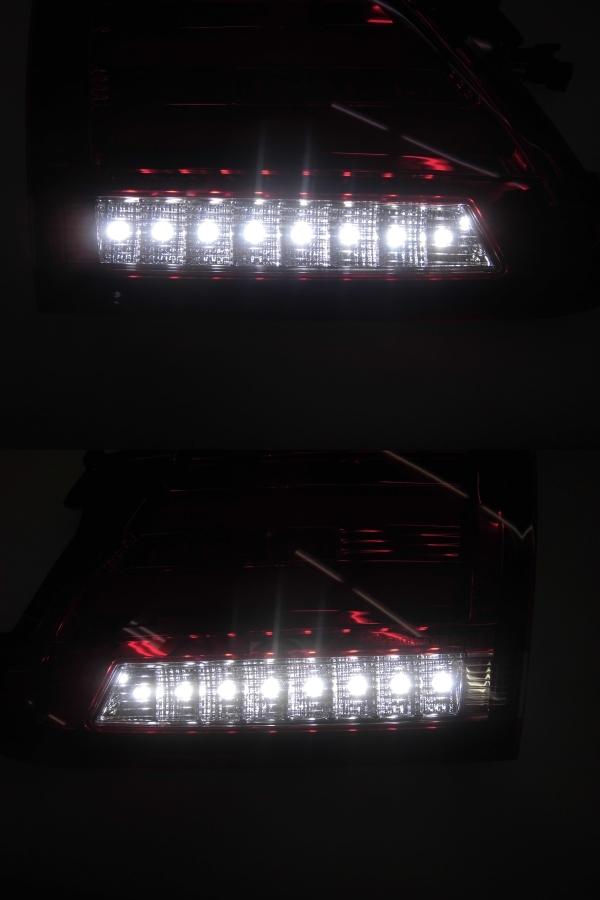 中古 CORAZON コラゾン LEDテール スバル レヴォーグ CZ-VM-LT001R クロームベゼル 点灯タイプ_画像6