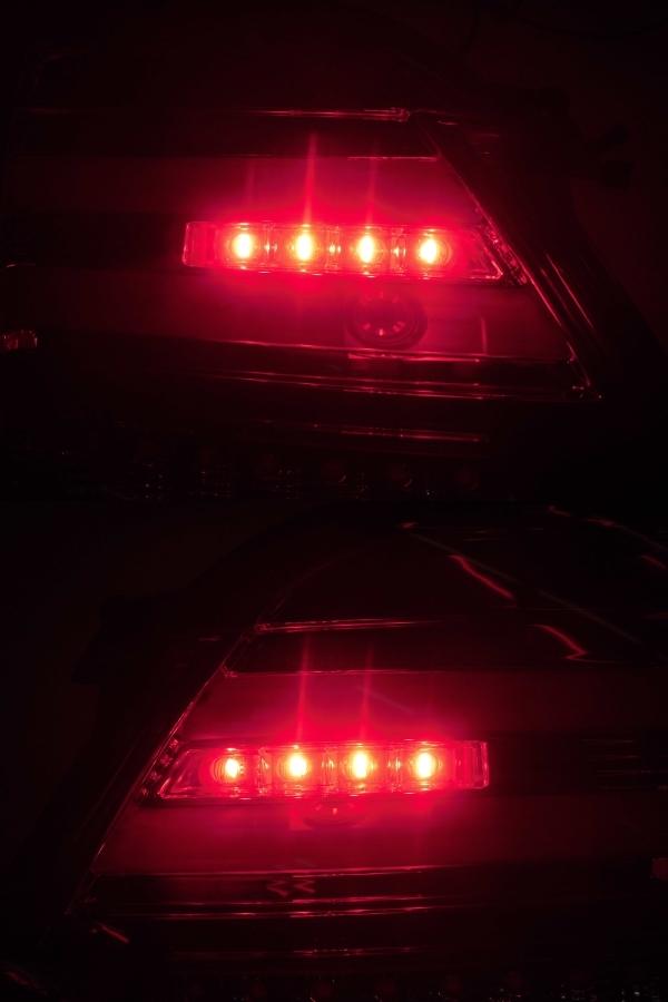 中古 CORAZON コラゾン LEDテール スバル レヴォーグ CZ-VM-LT001R クロームベゼル 点灯タイプ_画像7