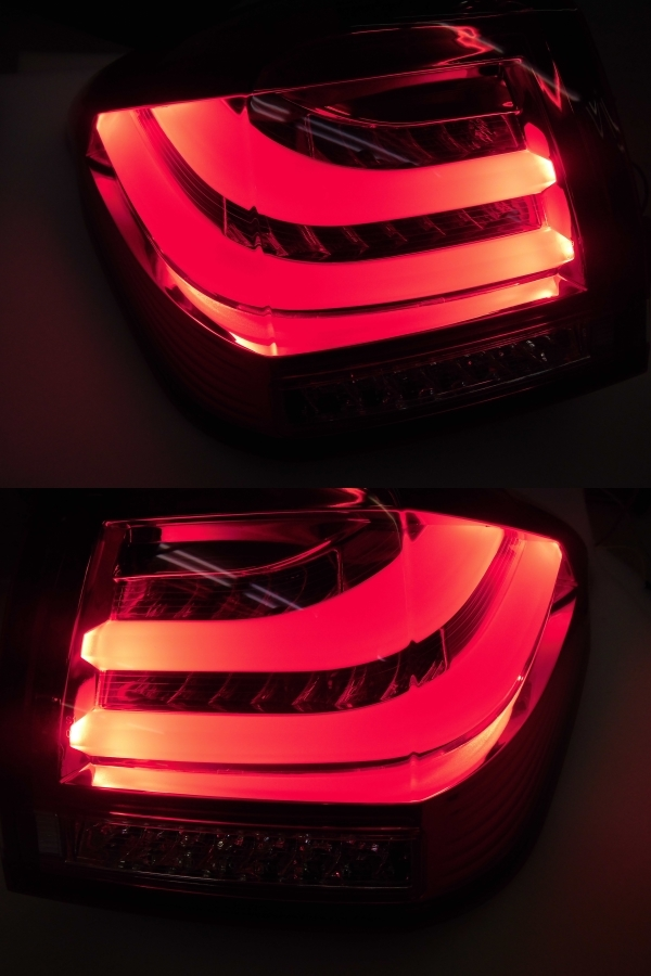中古 CORAZON コラゾン LEDテール スバル レヴォーグ CZ-VM-LT001R クロームベゼル 点灯タイプ_画像8
