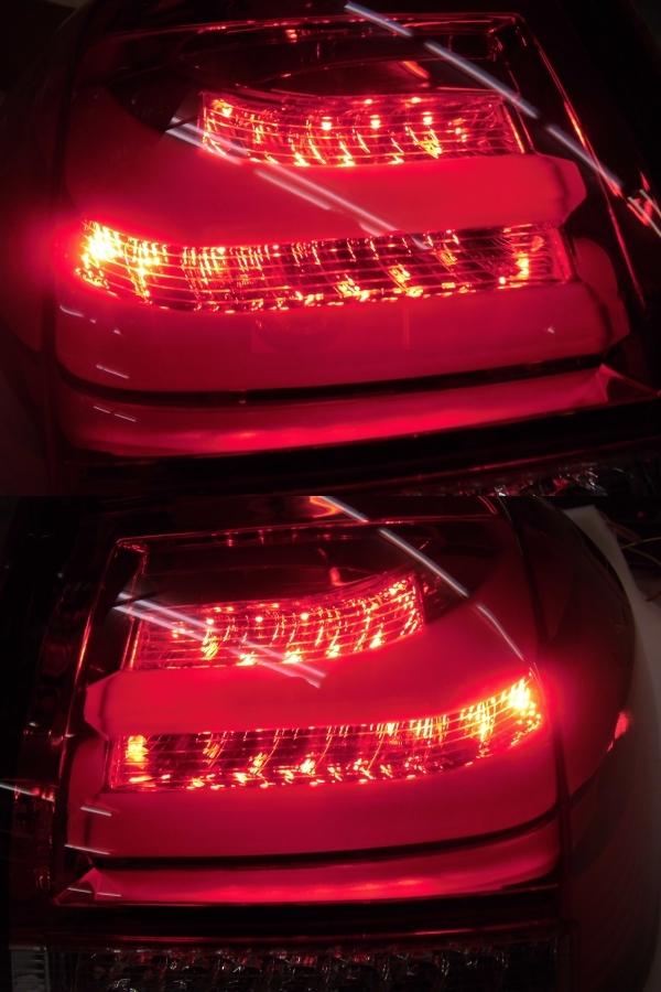 中古 CORAZON コラゾン LEDテール スバル レヴォーグ CZ-VM-LT001R クロームベゼル 点灯タイプ_画像9