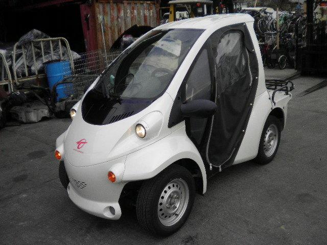 □コムス 100%電気自動車 コラムAT TAK30 走行24000㌔ 修復無し 売り切り!!□
