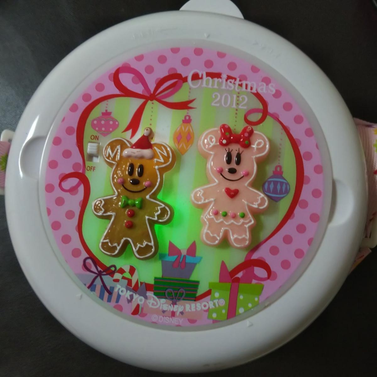 レア★TDL ディズニー★クリスマス2012限定★ミッキー/ミニー ポップコーンバケット★ポップコーンバケツ_画像1