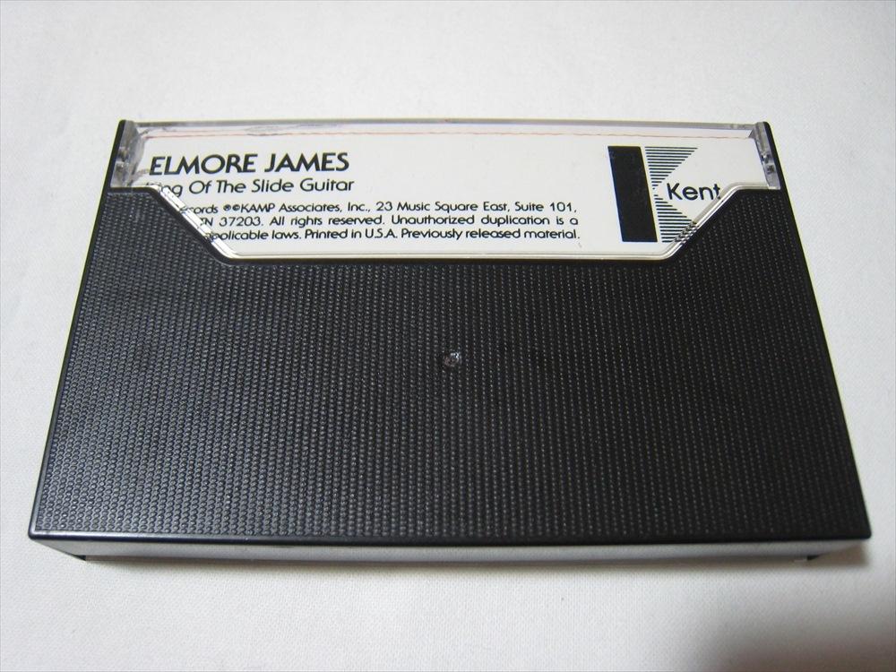 【カセットテープ】 ELMORE JAMES / KING OF THE SLIDE GUITAR US版 エルモア・ジェイムス_画像2