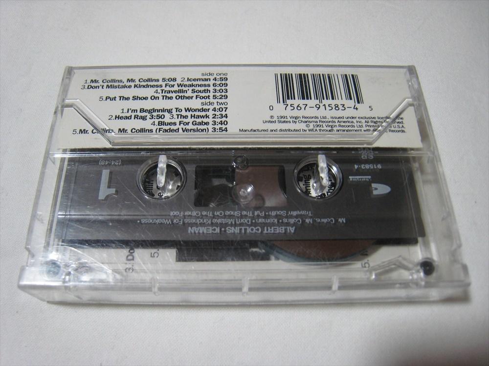 【カセットテープ】 ALBERT COLLINS / ICEMAN US版 アルバート・コリンズ アイスマン_画像2
