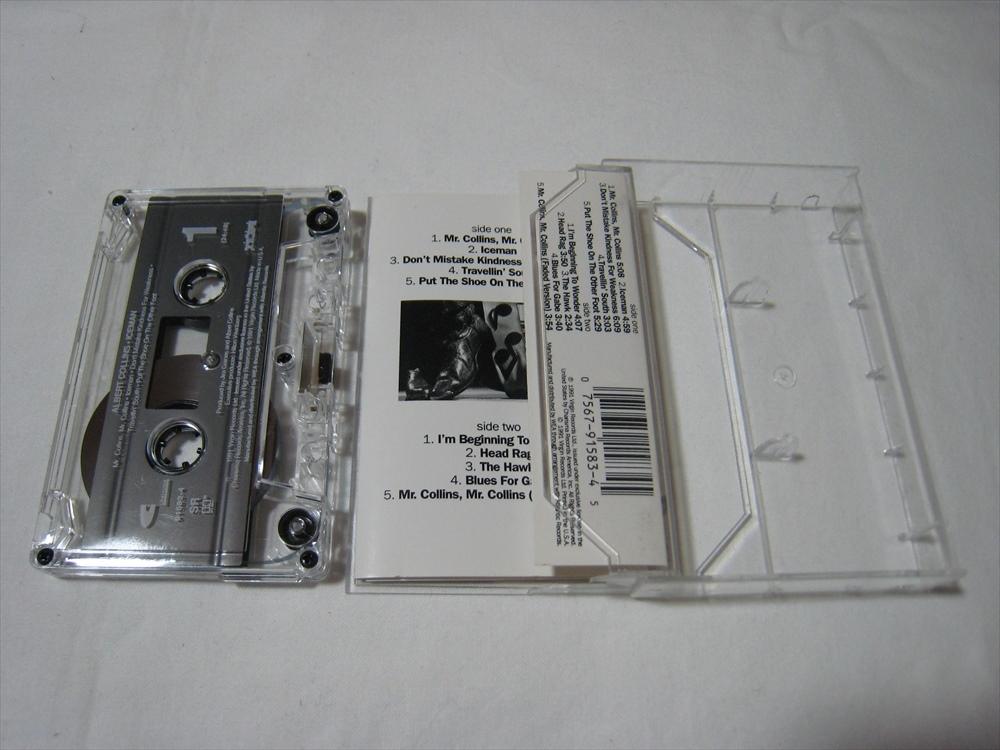 【カセットテープ】 ALBERT COLLINS / ICEMAN US版 アルバート・コリンズ アイスマン_画像4