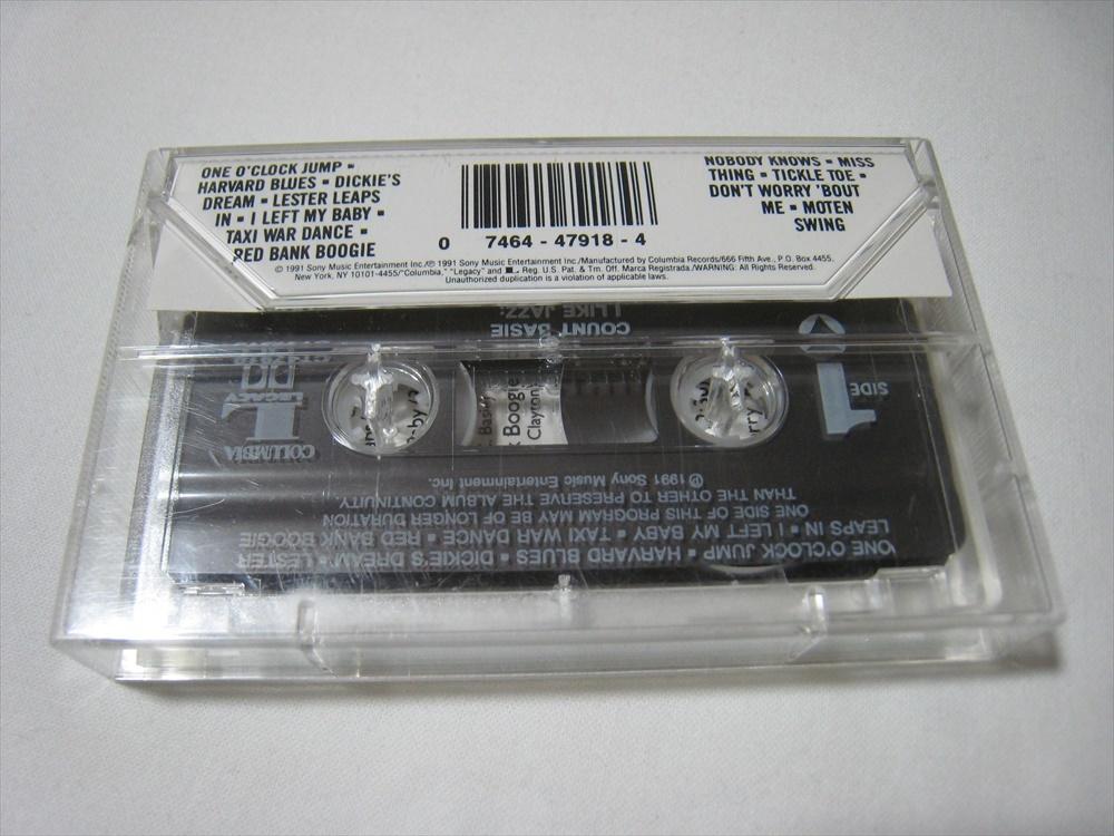 【カセットテープ】 COUNT BASIE / THE ESSENCE OF COUNT BASIE US版 カウント・ベイシー_画像2