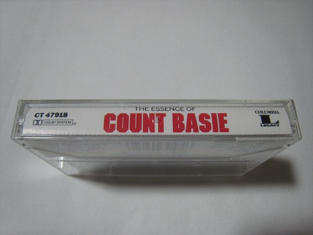 【カセットテープ】 COUNT BASIE / THE ESSENCE OF COUNT BASIE US版 カウント・ベイシー_画像3