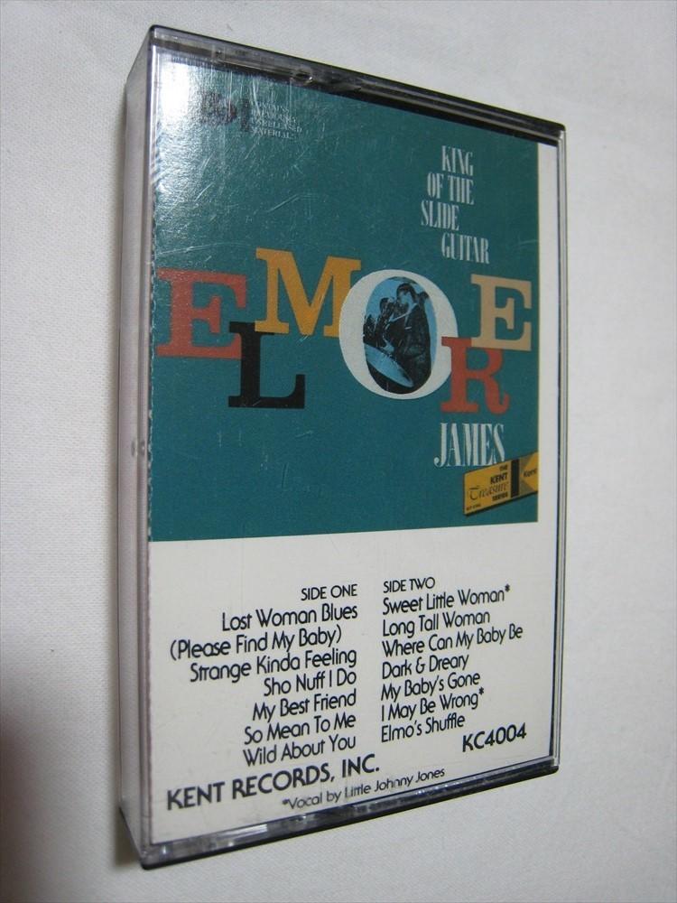 【カセットテープ】 ELMORE JAMES / KING OF THE SLIDE GUITAR US版 エルモア・ジェイムス_画像1