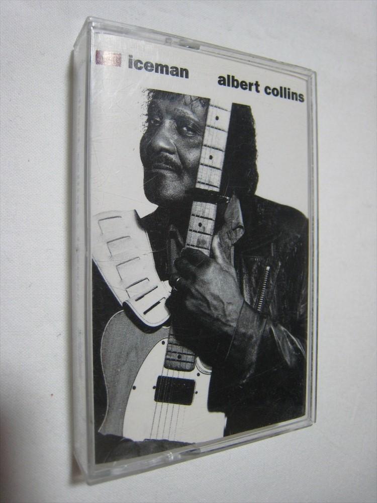 【カセットテープ】 ALBERT COLLINS / ICEMAN US版 アルバート・コリンズ アイスマン_画像1