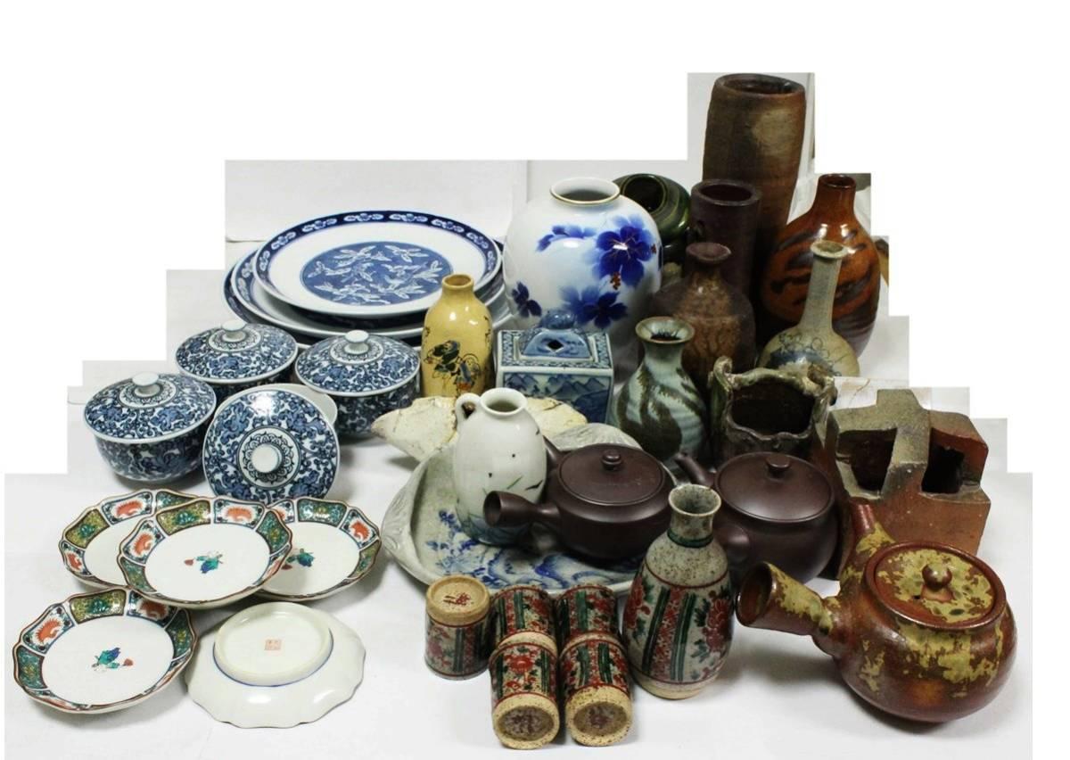 雑貨 食器 花瓶 急須 湯飲み茶碗 火鉢 一輪挿し お皿 香炉 徳利 花器 九谷焼 香蘭社 織部