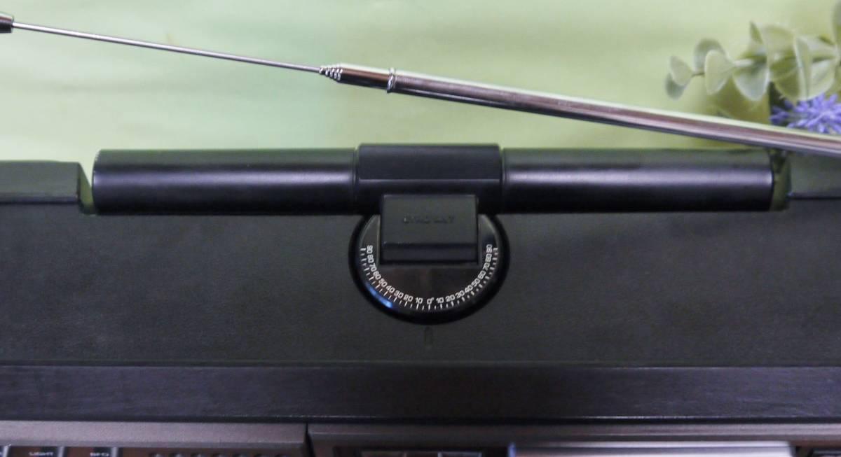 クーガ(RF-2200)オールバンド高感度で特にFMは抜群です。キズや色褪せの無い特Aクラスの良品を選別出品*_画像3