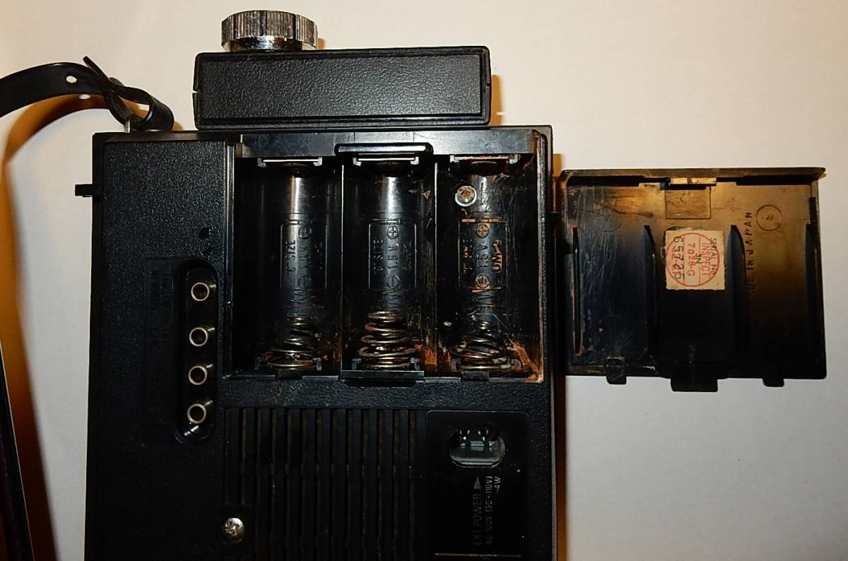 電池ボックス、左と右のスプリングは交換。