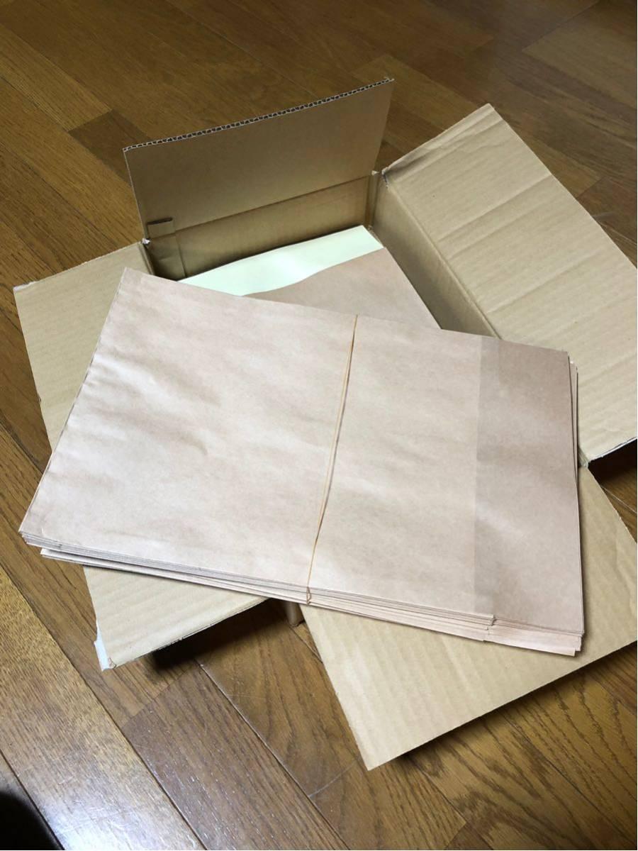 新品未使用 A4版 ポストイン定形外封筒未晒100g/㎡〈茶〉クラフト封筒100枚 ポストに投函可厚さ30mmキング190411オークション無印フリマ_50枚ずつ分けられています。