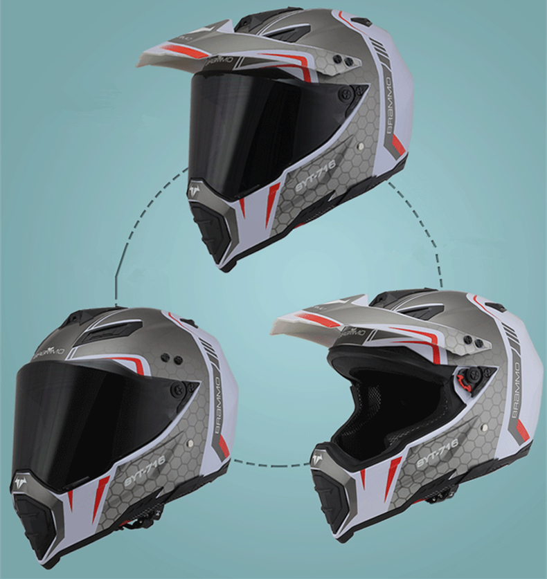 バイク オフロード フルフェイス ヘルメット xl サイズ sy 三用 定額 即決 価格 展示品 在庫 格安 処分 即日 7_画像2