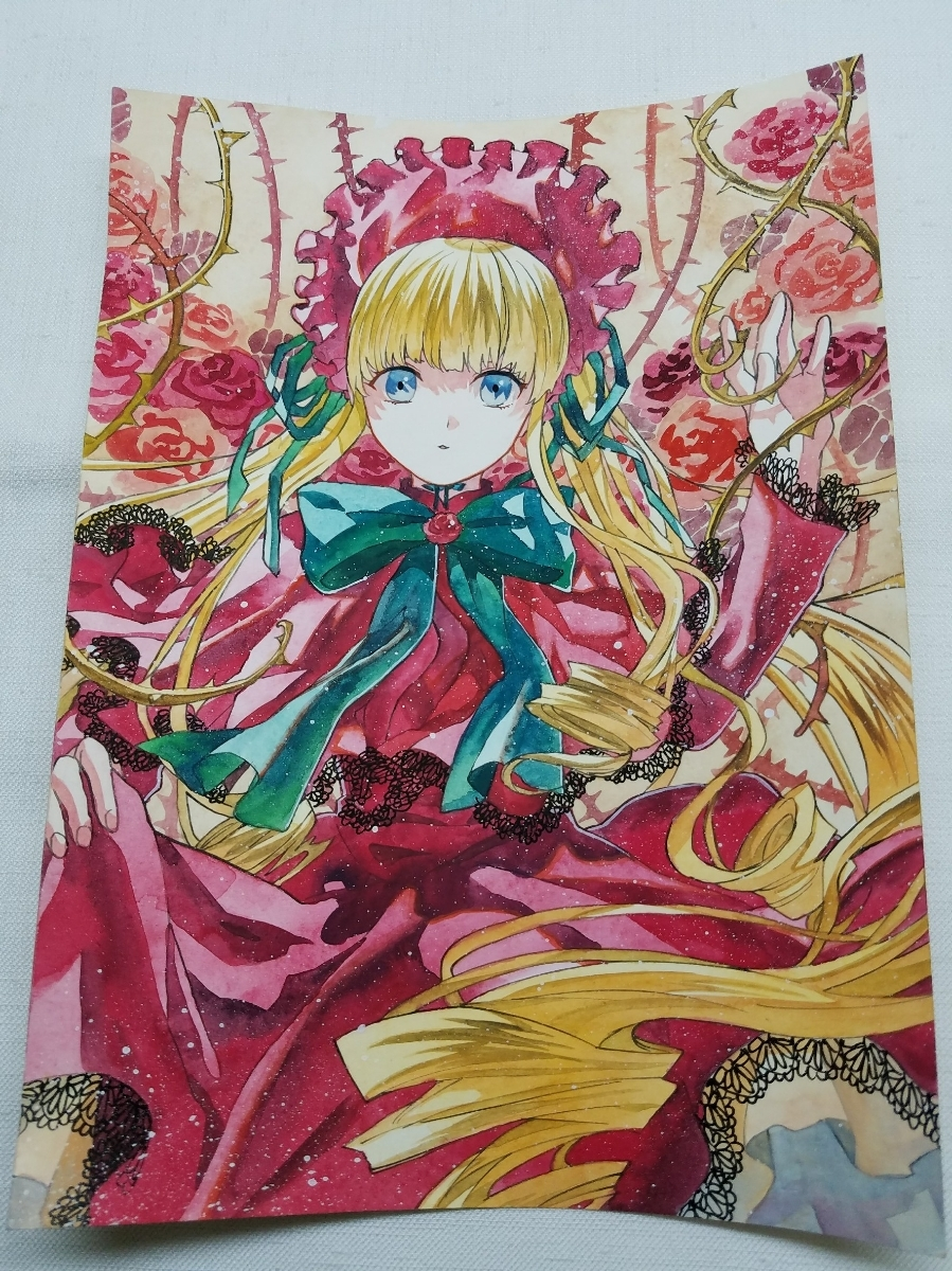同人手描きイラスト ローゼンメイデン 真紅 B5 Nihon Auctions