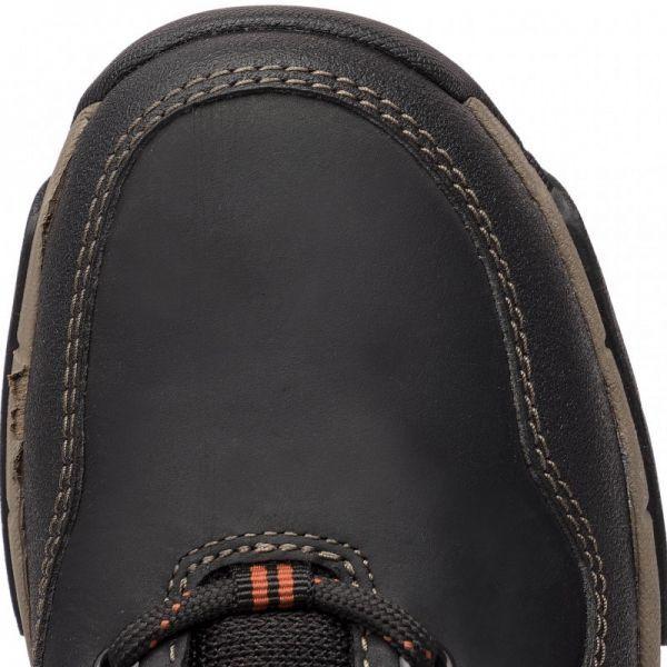 Clarks 27.5cm ブーツ ブラック 黒 レザー 革 防水 マウンテンブーツ レースアップ チャッカ ビジネス ローファー スニーカー H197_画像7