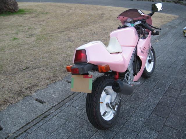 最終値下げ出品 スズキGAG ギャグ 1986年ピンクスキャラクターGSX-R 実走行970㌔です。バイク屋さんなら20万以上27万超えで販売です。_画像4