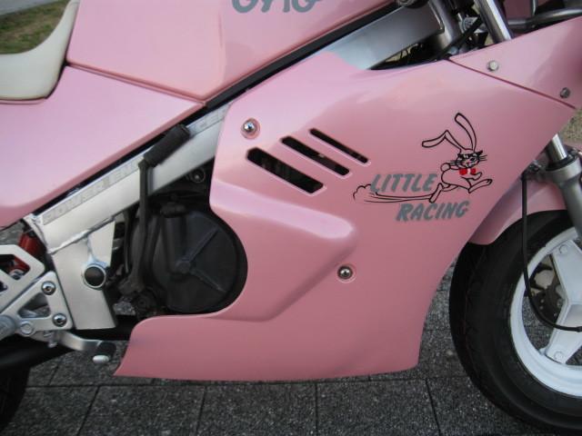 最終値下げ出品 スズキGAG ギャグ 1986年ピンクスキャラクターGSX-R 実走行970㌔です。バイク屋さんなら20万以上27万超えで販売です。_画像6