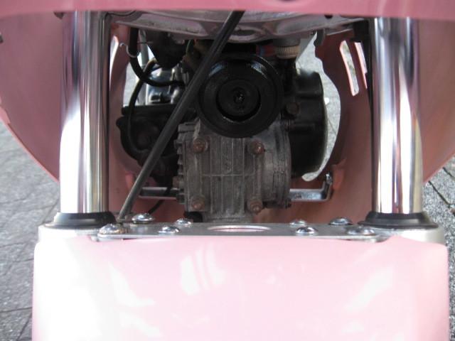 最終値下げ出品 スズキGAG ギャグ 1986年ピンクスキャラクターGSX-R 実走行970㌔です。バイク屋さんなら20万以上27万超えで販売です。_画像8