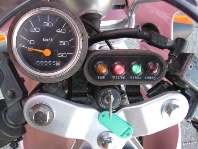 最終値下げ出品 スズキGAG ギャグ 1986年ピンクスキャラクターGSX-R 実走行970㌔です。バイク屋さんなら20万以上27万超えで販売です。_画像9