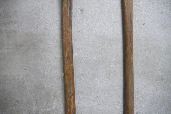 OT2223 斧 2本 刃幅約7cm/8cm ■製材道具/大工道具/薪割り/工具/古民具/古道具/山師/時代/スロデパ_画像7