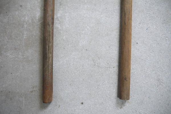 OT2223 斧 2本 刃幅約7cm/8cm ■製材道具/大工道具/薪割り/工具/古民具/古道具/山師/時代/スロデパ_画像5