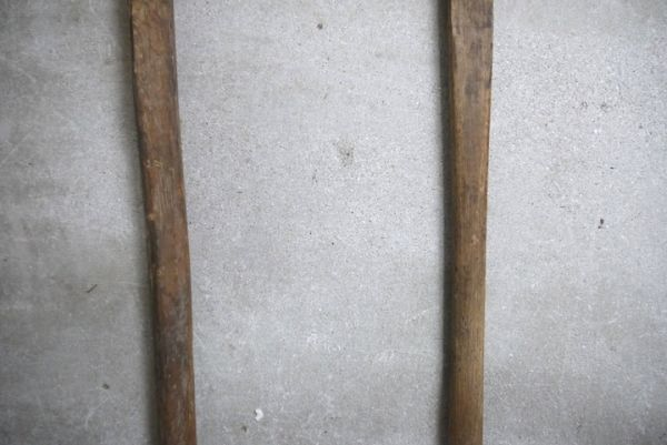 OT2223 斧 2本 刃幅約7cm/8cm ■製材道具/大工道具/薪割り/工具/古民具/古道具/山師/時代/スロデパ_画像4