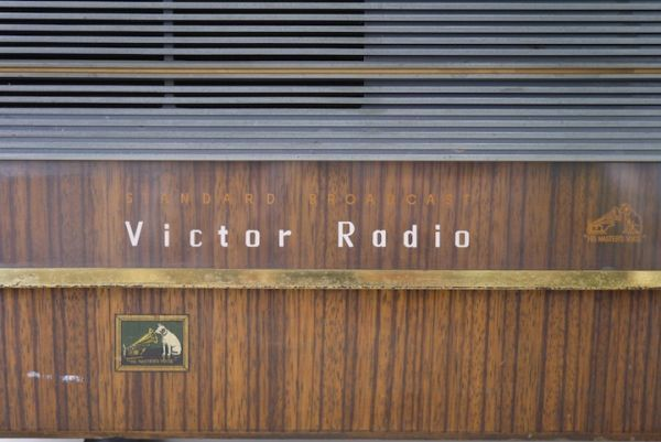 HE953 真空管ラジオ ビクター Victor ■昭和レトロ/ジャンク扱い/美品/ディスプレイ/オブジェ/部品取り/機器/スロデパ_画像2